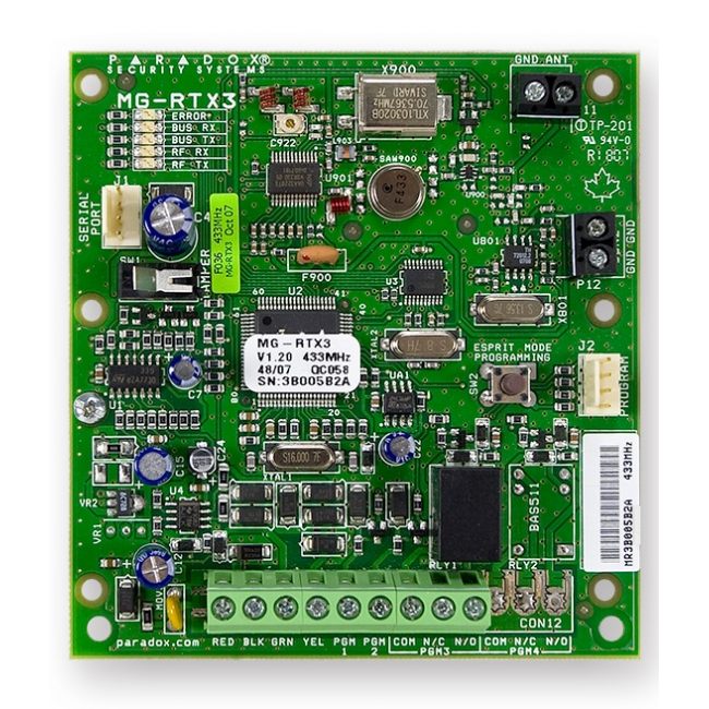 Rtx3 formerly mg rtx3 wireless expansion module for Door zone module